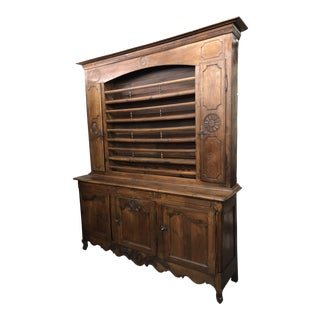 19th Century Antique French Louis XV Oak Vaisselier