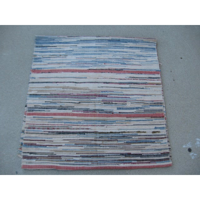 Americana Rag Rug Runner - 2′8″ × 10′4″ - Image 5 of 8