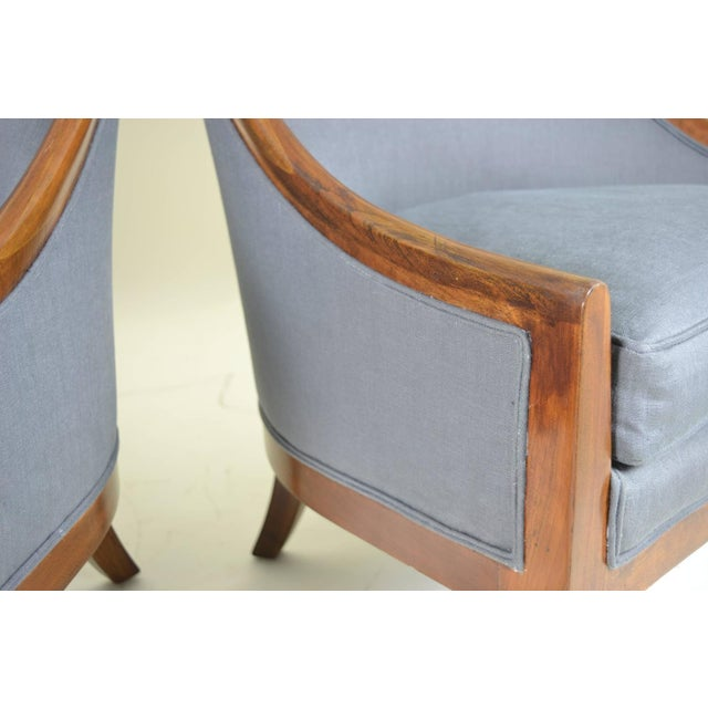 Spoon Back Chairs by Baker Furniture - Image 6 of 9