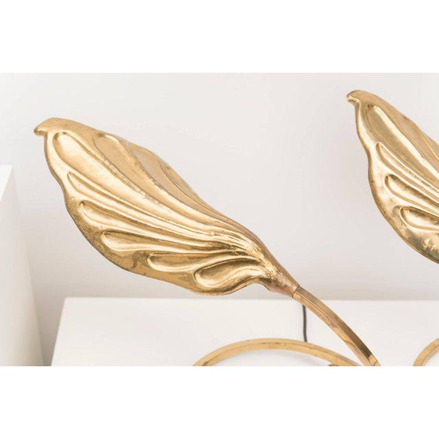 Tommaso Barbi Brass Table Lamps - A Pair - Image 4 of 8