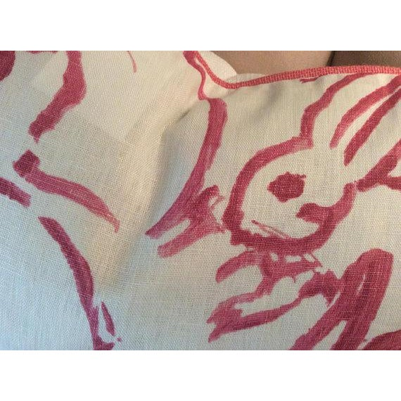 Contemporary Pink Lee Jofa Hunt Slonen Bunny Hutch Pillows - A Pair For Sale - Image 3 of 5