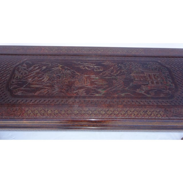 Chinoiserie Console by John Widdicomb For Sale - Image 5 of 8