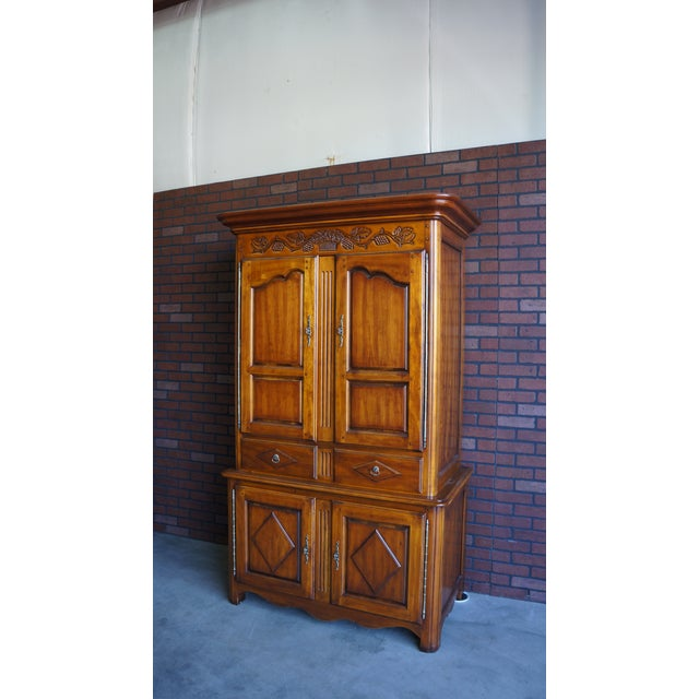 20th Century French Country Armoire For Sale - Image 10 of 11