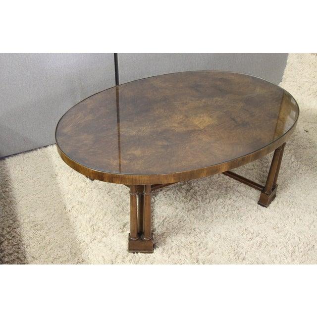 Vintage Wood Coffee Table - Image 3 of 5