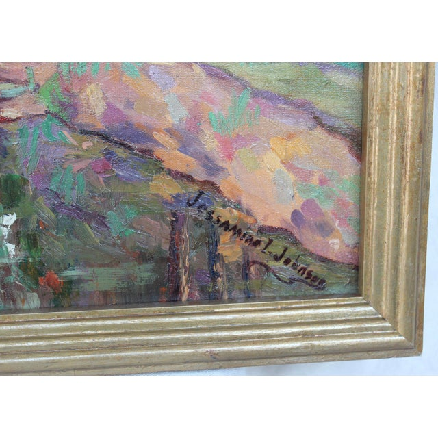 """""""Fishing on the River"""" Painting by Jessamine Johnson For Sale - Image 5 of 6"""