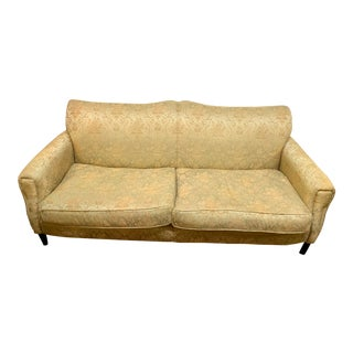 Vintage Cisco Brothers Brocade Sofa For Sale