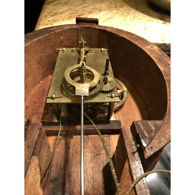 Early 20th Century 19th Century Massachusetts Banjo Clock For Sale - Image 5 of 7