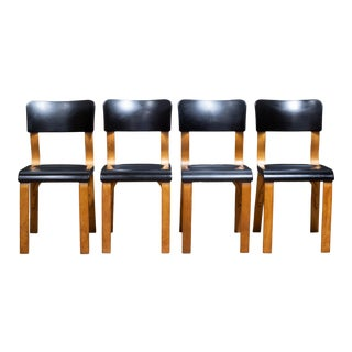 1930s Thonet Bentwood Bakelite Dining Chairs For Sale