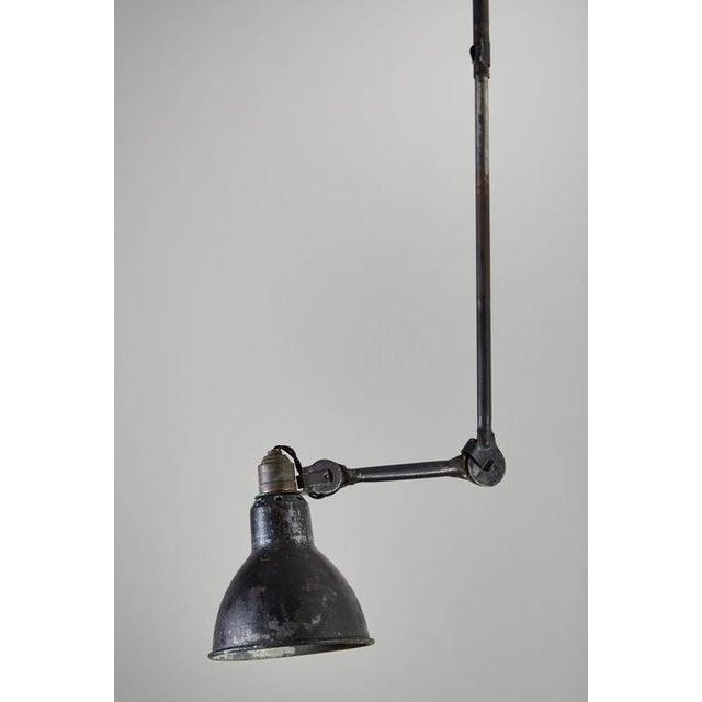 Model No. 302 Adjustable Ceiling Light by Gras Ravel - Image 7 of 9
