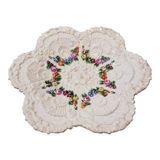 Meissen Raised Decoration Plate For Sale