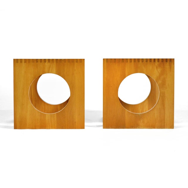 1970s Jens Quistgaard Cube End Tables by Richard Nissen For Sale - Image 5 of 11