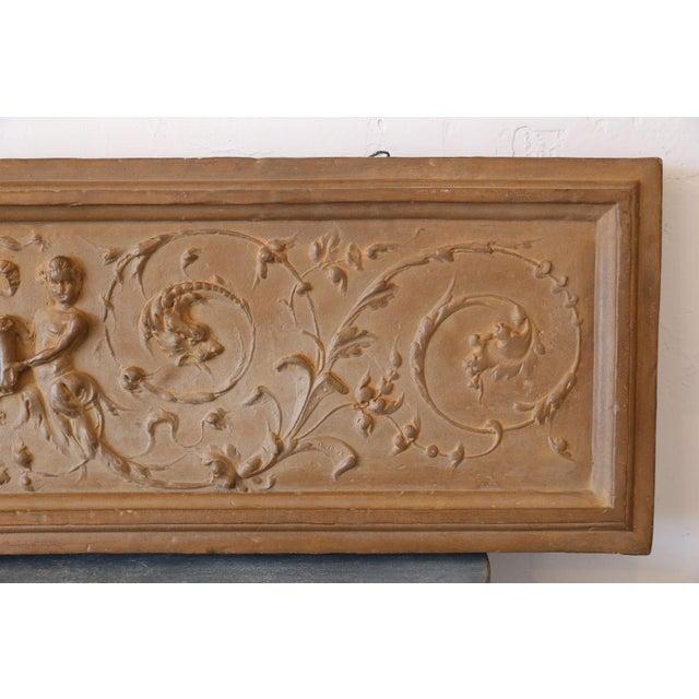 Mid 18th Century Italian Rococo Terracotta Frieze For Sale - Image 4 of 6