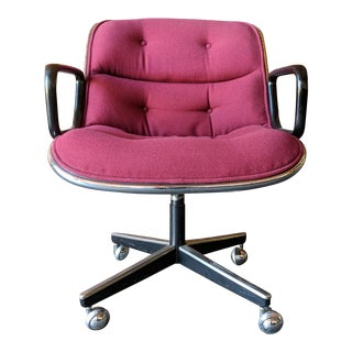 Vintage Executive Armchairs by Charles Pollock for Knoll