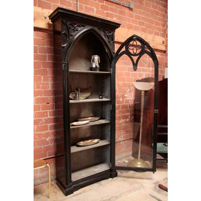Italian 19th C. Gothic Cabinet For Sale - Image 4 of 11
