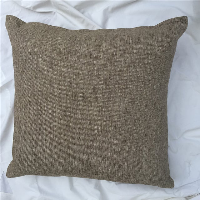 English Traditional Scottish Wool Plaid Pillows - A Pair For Sale - Image 3 of 5
