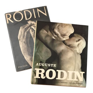1960's Rodin Art Books - a Pair