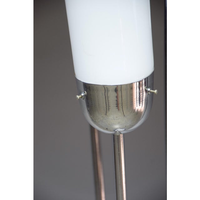 White 20th Century Floor Lamp in Murano Glass by Carlo Nason for Mazzega, 1970s For Sale - Image 8 of 13