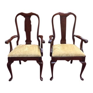 Vintage Pennsylvania House Arm Chairs - a Pair For Sale