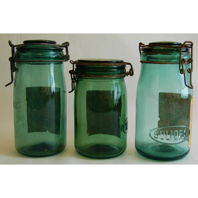 1930s French Canning Preserve Jars - Set of 3 - Image 8 of 8