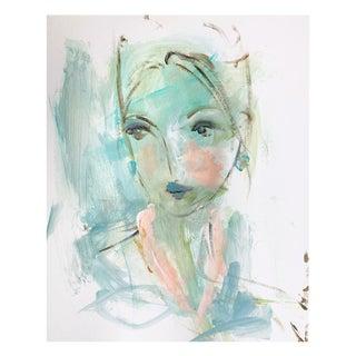 Blue Affair by Leslie Weaver For Sale