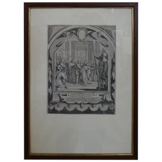17th Century French Jacques Callot Print For Sale