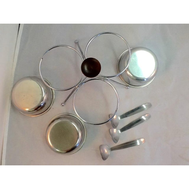 Atomic Style Mid-Century Condiment Set - Image 4 of 4