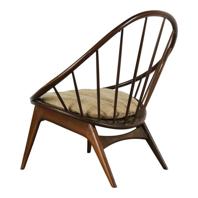 Ib Kofod-Larsen for Selig Hoop Chair - Peacock Chair, Denmark For Sale