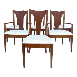 Mid-Century Modern Dining Chairs- Set of Six For Sale