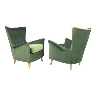 Gio Ponti Style Bristol Hotel Lounge Chairs For Sale