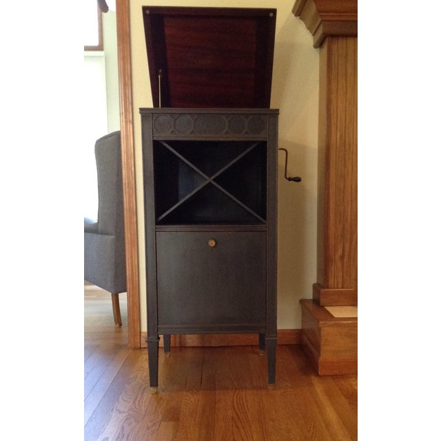 This magnificent custom conversion of an Edison Diamond Disc Phonograph cabinet brings this piece out of the basement and...