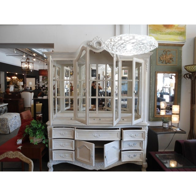 White China Hutch by Fairmont Designs - Image 4 of 10