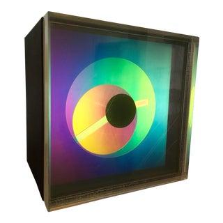 1976 Vintage Kirsch-Hamilton Prisma Art Clock