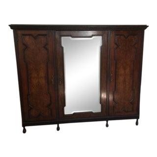 19th Century Mediterranean 3- Door Armoire For Sale