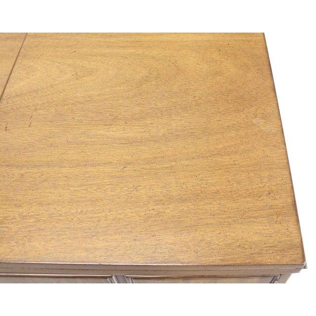 Mid-Century Modern Flip Top Bar Cart Server Cabinet For Sale - Image 3 of 10