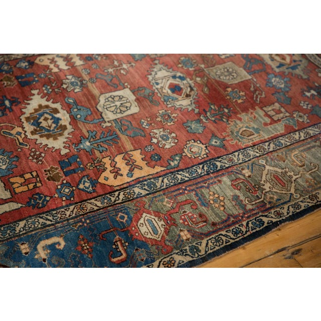 "Vintage Bijar Rug - 4'10"" X 7' For Sale - Image 12 of 13"