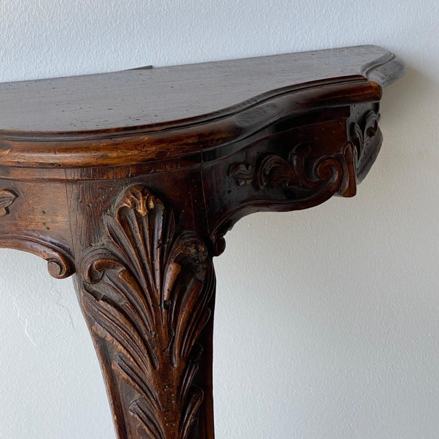 French 20th Century French Wall Console For Sale - Image 3 of 7