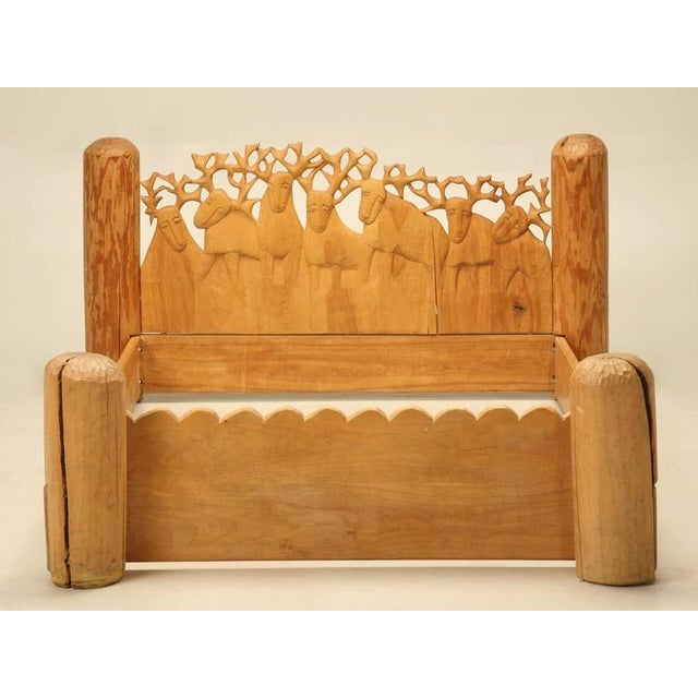 Maybe one of my all-time favorite beds which was hard-carved by the noted sculptor Jerzy Kenar, about 30 years ago. We...