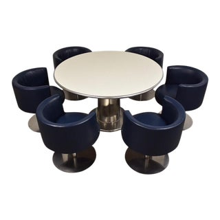 Harvey Probber Dining Table & Chairs- a Set For Sale