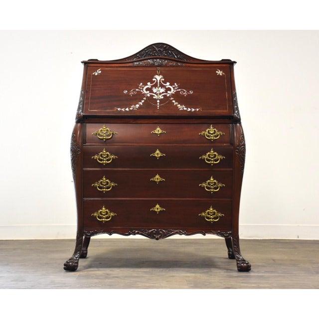 r.j. Horner Mahogany Secretary Desk For Sale - Image 12 of 12