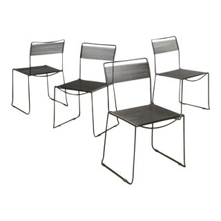 "Giandomenico Belotti for Fly Line ""Spaghetti Chairs"" - Set of 4"