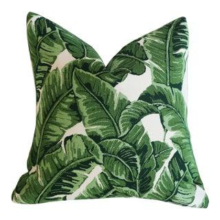 Sunbrella Outdoor Banana Leaf Pillow Cover 20x20