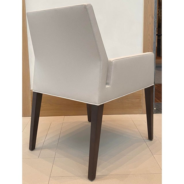 Contemporary Dining Arm Chair For Sale - Image 4 of 6