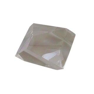 Sculptural Lucite Modernist Paperweight