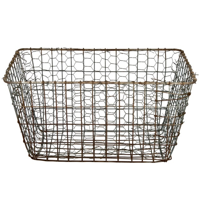 Vintage Wire Vegetable Drying Basket - Image 2 of 4