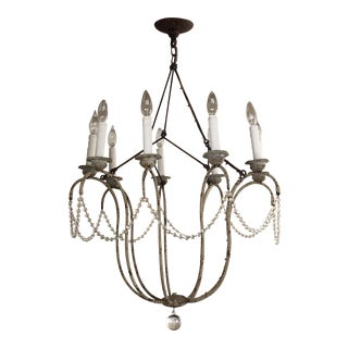 9 Arm Niermann Weeks Italian Chandelier For Sale