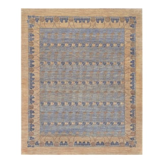 "Art Deco Mansour Unique Handwoven Deco Rug - 7'10"" X 9'9"" For Sale"