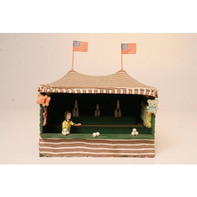 Antique Folk Art Carnival Model - Image 2 of 11