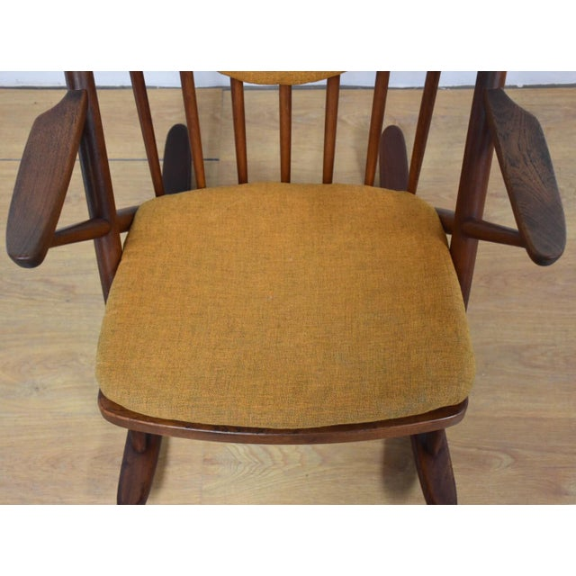 Wood Bramin Danish Rocking Chair For Sale - Image 7 of 11