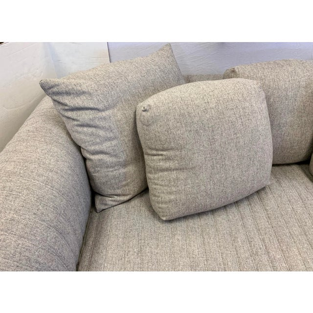Donghia Donghia by John Hutton Gray Sofa For Sale - Image 4 of 13