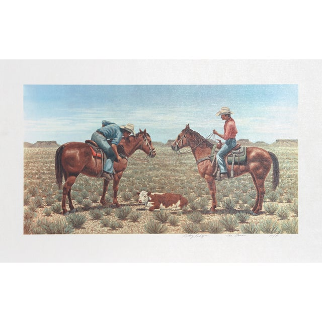 Rocky Rodgers Lithograph - The Goner For Sale